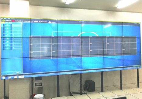 广西桂林三金国金药业液晶拼接监控中心应用案例